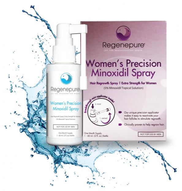 Regenepure Precision 5% Minoxidil Spray
